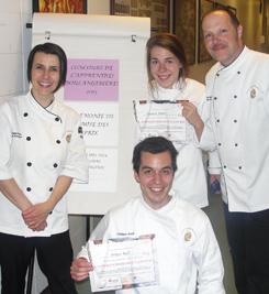 Gagnants du concours l'Apprenti(e) boulanger 2013.