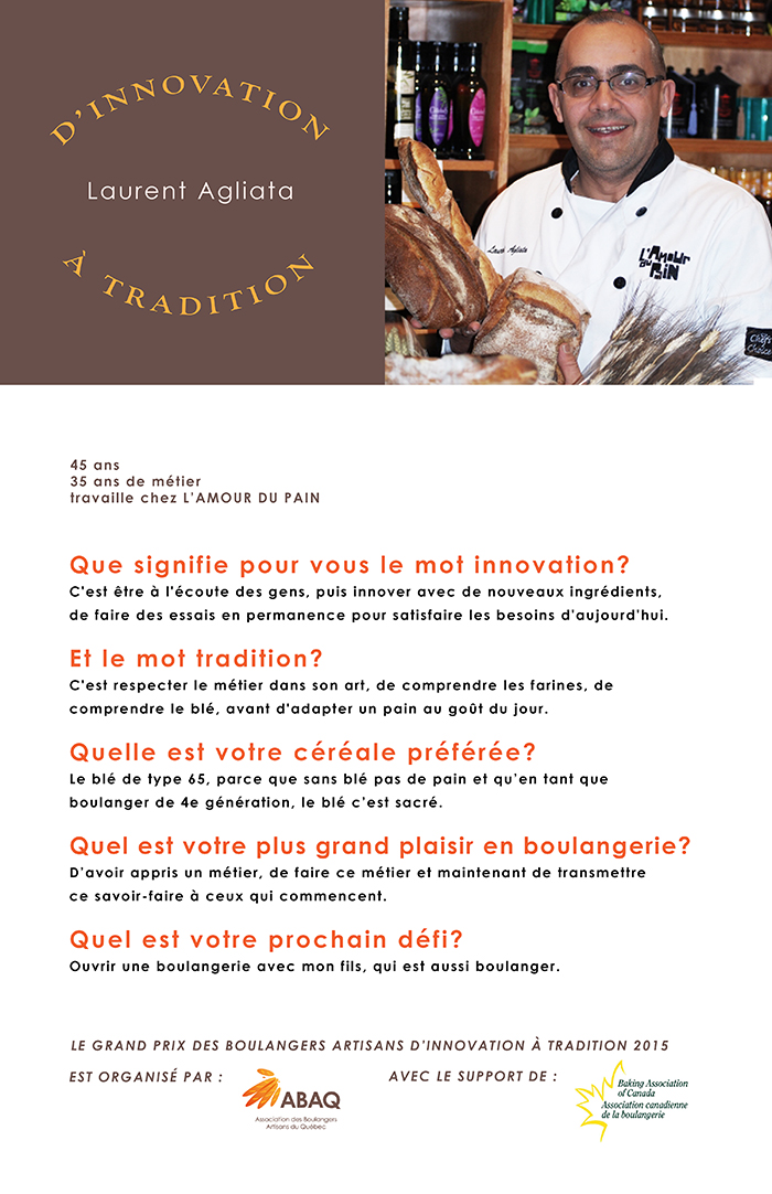 entrevue Laurent Agliata