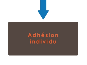 bouton adhésion individu
