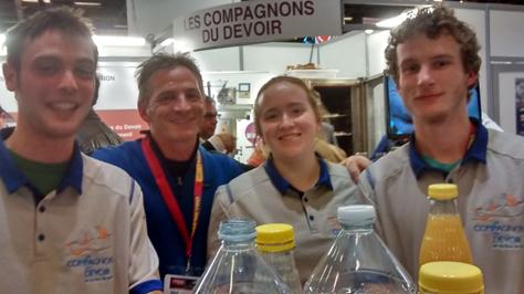 Stage de compagnonnage en France – SamyRoux
