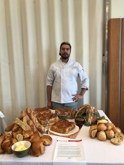Juan Sebastian Manzanares de l'École Hôtelière Calixa-Lavallée