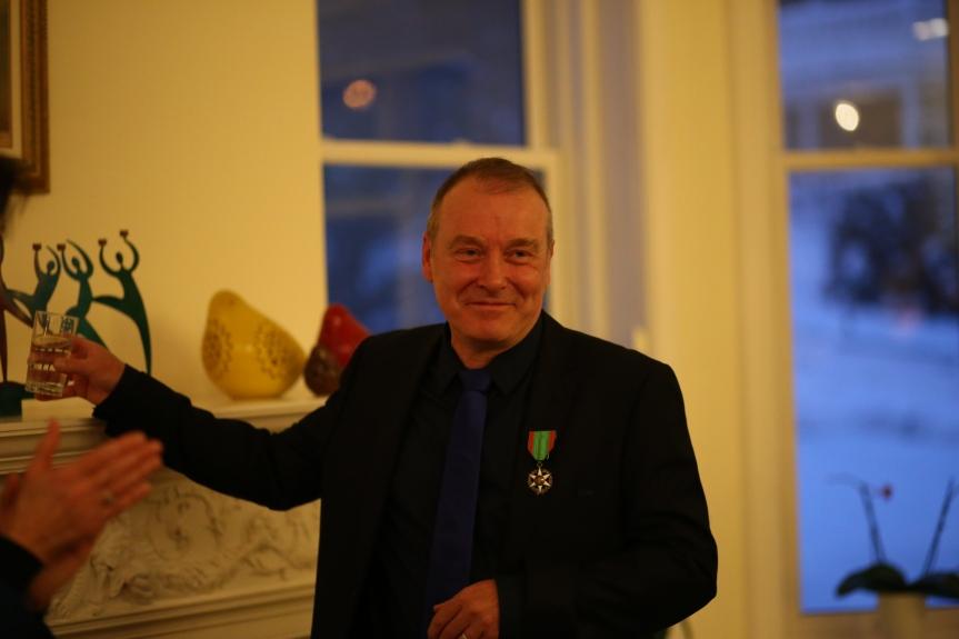 Guy Bonraisin nommé chevalier de l'Ordre du mérite agricole de la Republiquefrançaise