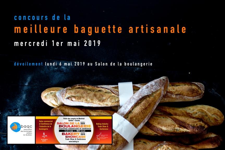 Concours de la meilleure baguette artisanale –2019