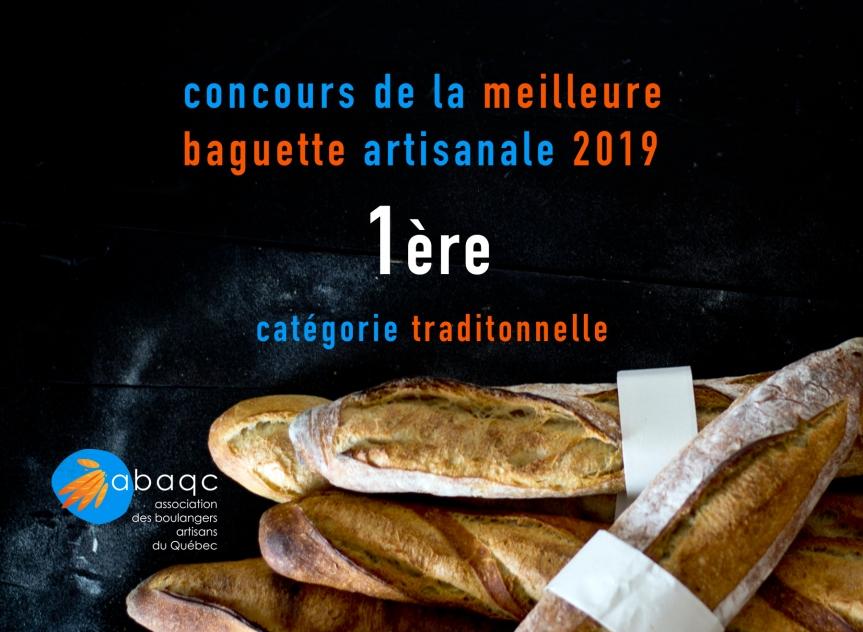 Les gagnants du Concours de la meilleure baguette artisanale2019